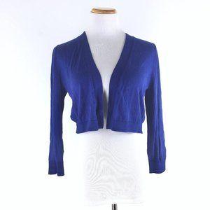 Talbots Size S Cotton Shrug Cardigan